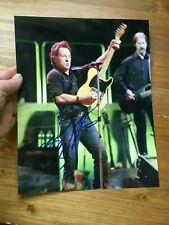 Bruce Springsteen signed autograph on 8x10 photo
