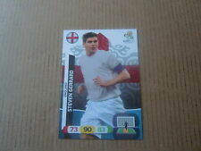 Carte adrenalyn panini - Euro 2012 - Angleterre - Steven Gerrard