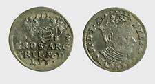 s533_28) 3 Gröscher 1583 Polen-Litauen Stefan Bathory 1576-1586