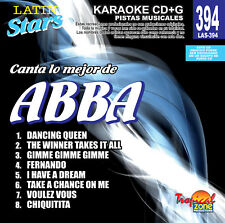 Karaoke Latin Stars 394 ABBA Vol.1