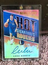 2018-19 Luka Doncic Auto RC NBA Hoops Hot Signatures Rookies HSR-LD