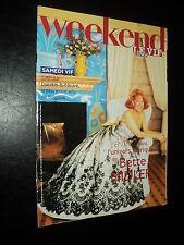 WEEKEND LE VIF 97/33 (21/8/97) BETTE MIDLER CELINE DION ELVIS PRESLEY
