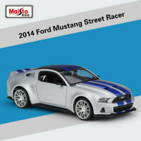 1:24 Maisto  Need For Speed 2014 Ford Mustang  Street Racer Diecast Car Model