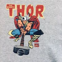Vtg Men's Marvel Comics Thor Graphic T-Shirt The Mighty Thor Adult Mens Size XL