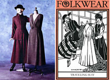 Folkwear Retro WWI Jacket & Jumper Traveling Suit Sewing Pattern 508 Size 6-20
