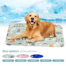 Pet Self Cooling Gel Mat Cool Mat For Dogs Cats Pad Bed Mattress Heat Relief Hot