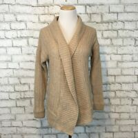 Neiman Marcus Women's Light Brown Cashmere Cardigan Sweater Size Small
