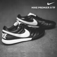 Te Nike Premier II TF Turf Soccer Shoe AO9377 Black White Men's 9 10 11