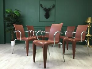 Set of Six Louis 20 Armchairs Chair by Philippe Starck for Vitra Vintage Design