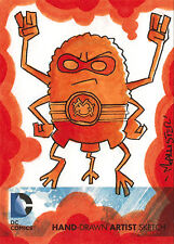 DC Comics New 52 Sketch Card by Isaiah McAllister of Orange Lantern