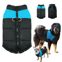 S-7XL Dog Clothes for Large Dogs Winter Dog Coat Waterproof Pet Jacket Pitbull