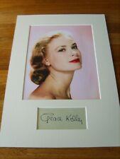 Grace Kelly Genuine Signed Authentic Autograph - UACC / AFTAL.