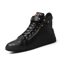 Designer Sneaker Black x Gold NEW Hip Hop Rnb Fashion Style