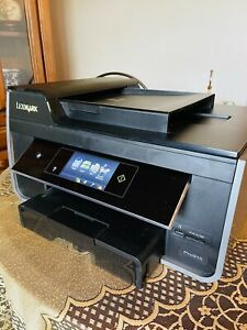 Lexmark Pro915 Wireless Color Inkjet Printer All-in-One Copier Scanner Fax