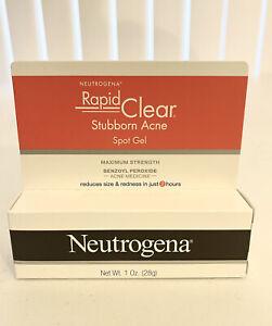 Neutrogena Rapid Clear Stubborn Acne Spot Treatment Gel - 1oz