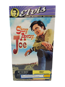 Stay Away, Joe (VHS, 1997, Includes Theatrical Trailer) NEW