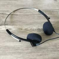 Sony Dynamic Headphones Hd MDR-4L1 Black Rare Vintage fully operation