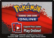 50x Pokemon Online Emerging Powers Code Cards for OTCG Booster Packs