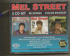 "MEL STREET, 3 CD SET ""58 SONGS, COLOR BOOKLET"" NEW SEALED"