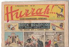 HURRAH n°23 - 6 novembre 1935 - Très bel état.