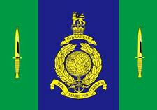 Royal Marines Commando Flag War British Navy Elite Armed Forces Dagger 5x3 bn