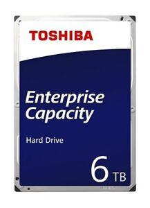 "Toshiba MG06 6TB 3.5"" SAS 12Gb/s 7200 RPM Enterprise Hard Drive"