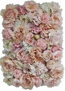 Artificial Flower Wall Panel Floral Wedding Home Decor Venue Party BEST QUALITY