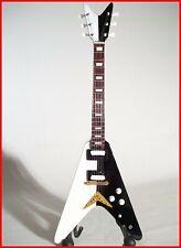 Scorpions! Guitarra Miniatura Flying V Schenker Coleccionista Hard Piedra Heavy