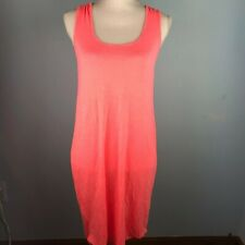 Old Navy Womens Small Neon Pink Dress Swim Cover Up