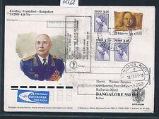 72632) LH FF A340 Frankfurt - Bangalore Indien 1.9.2001, GA ab Russland