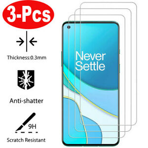 3x For OnePlus Nord 6 6T 7 7T 8T 9 9R N10 N100 Tempered Glass Screen Protector