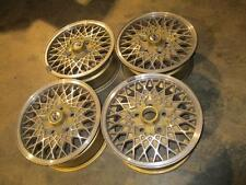 MSW Mesh Wheels by O.Z. Racing 14 x 6 Chevrolet Celebrity Buick Century Full Set