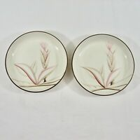 Winfield DRAGON FLOWER Bread Butter Plates 5.75 inch Lot of 2 VTG Calif China