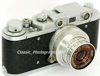 Zorki Ic + RIGID Industar-22 LEICA-Based 35mm Rangefinder made in USSR in 1952