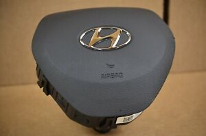 2019 2020 2021 Hyundai Santa Fe Driver Wheel Airbag OEM Gray Interior