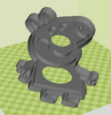 3D Printed Quality Peppa Pig Cookie Cutter