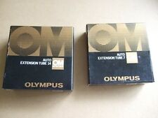 Olympus OM  Auto extension tube nos 7 and 14, both boxed, slightly used