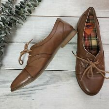 Rocket Dog Size 6 Brown Flats Lace Up Loafers Womens