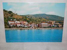 Vecchia foto cartolina d epoca di Pioppi Hotel La Vela Salerno veduta scorcio
