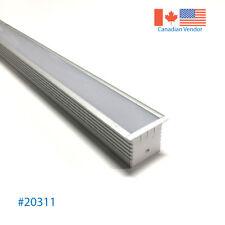 46'' Recessed Flash Mount Aluminum LED Profile for Strip Light Oversized U-Shape