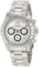 Invicta 9211 Pro Speedway Mens Stainless Steel Chronograph Tachymeter Watch