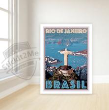 Art Deco Travel Posters Vintage Retro Holiday Tourism *Unique  Rio De Janeiro
