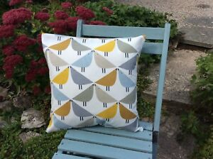 Harlequin Scion Fabric Cushion Cover - 'Lintu'  Dandelion
