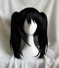 FIXSF973  new natural charm black straight hair wig wigs fashion women+Ponytail