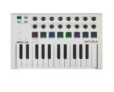 ARTURIA MINILAB MKII 25 Slim-Key Controller with 16 Encoders & 500 Sounds MK2