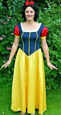 """Adult Disney SNOW WHITE Costume 10/12/14 Fancy Dress 36-48""""Bust Large COSPLAY"""