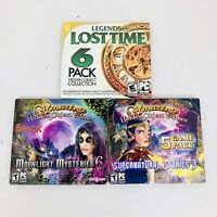 Lot Of 3 New Hidden Object PC Games Legends Of Lost Times Supernatural Stories 3