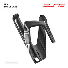 NEW 2020 Elite ALA Bicycle Water Bottle Cage : GLOSS BLACK/WHITE