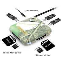 7 in 1 Card Reader For Android Smartphone Tablets Micro-USB Reader Trail Camera