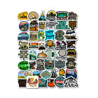 50 Sheets Outdoor Travel Personality Graffiti Suitcase Skateboard Stickers